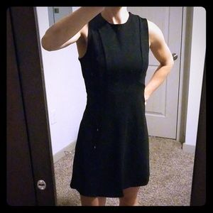 Soprano fit and flare little black dress